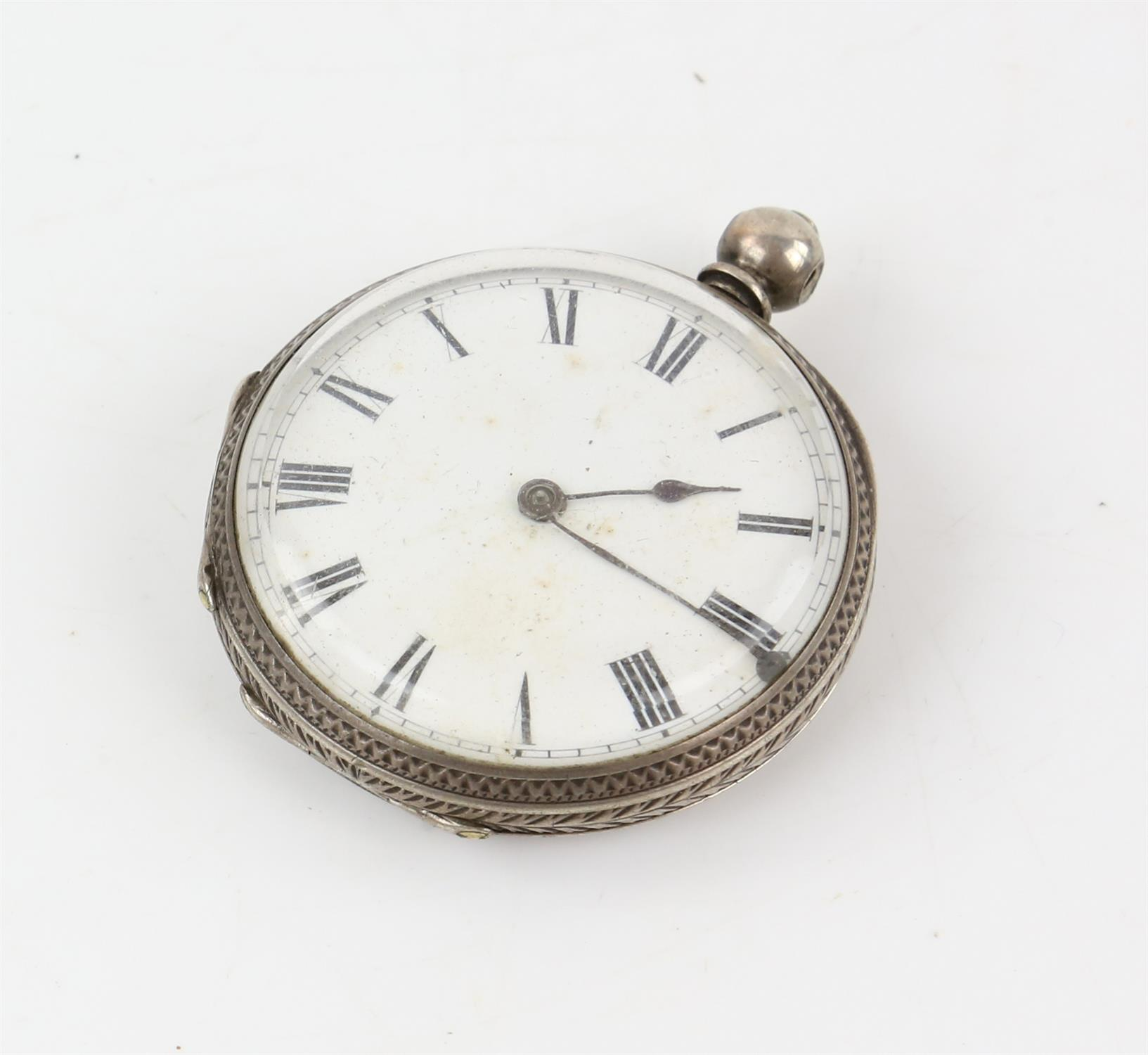 Selection of four continental silver 800 to 935 grade pocket watches - Image 8 of 14