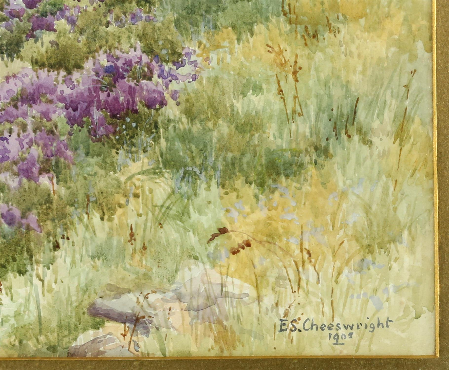 """Ethel Sophia Cheesewright (British, 1874-1977) """"between the heather and the Northern Sea"""", - Image 3 of 5"""