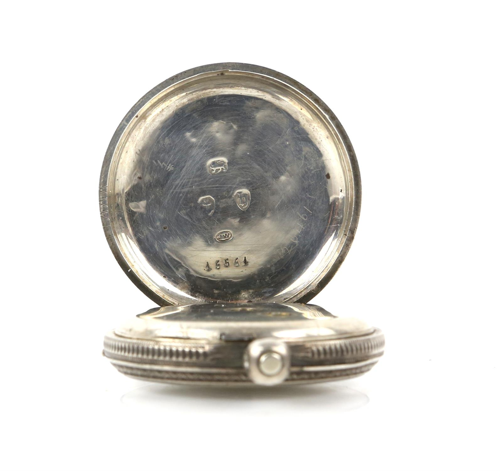 Selection of four continental silver 800 to 935 grade pocket watches - Image 14 of 14