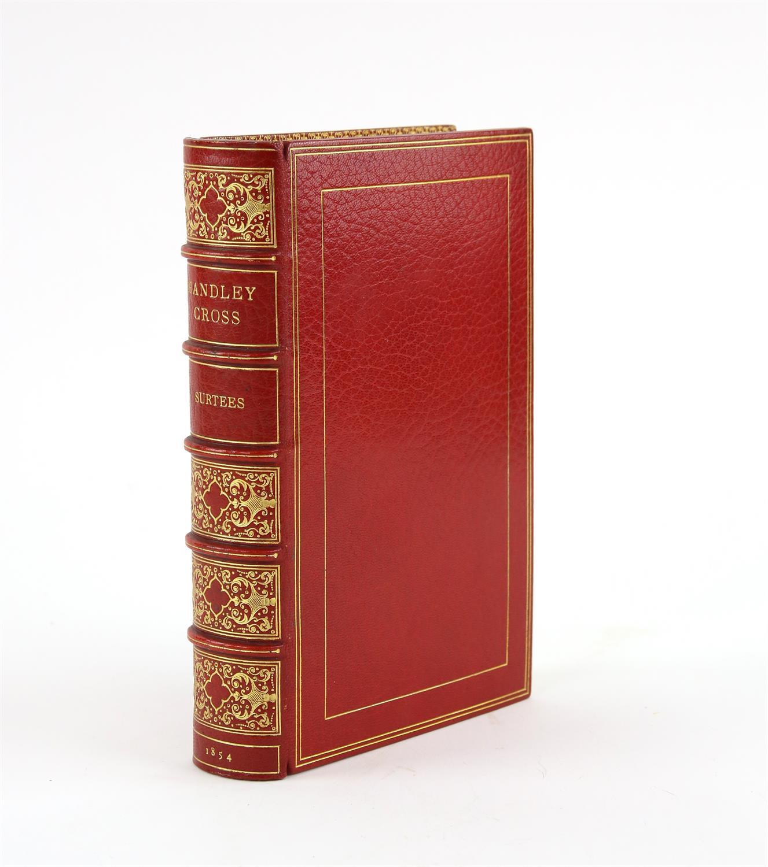Handley Cross; or, Mr. Jorrocks's Hunt, by Surtees, Published by Bradbury and Evans, London,