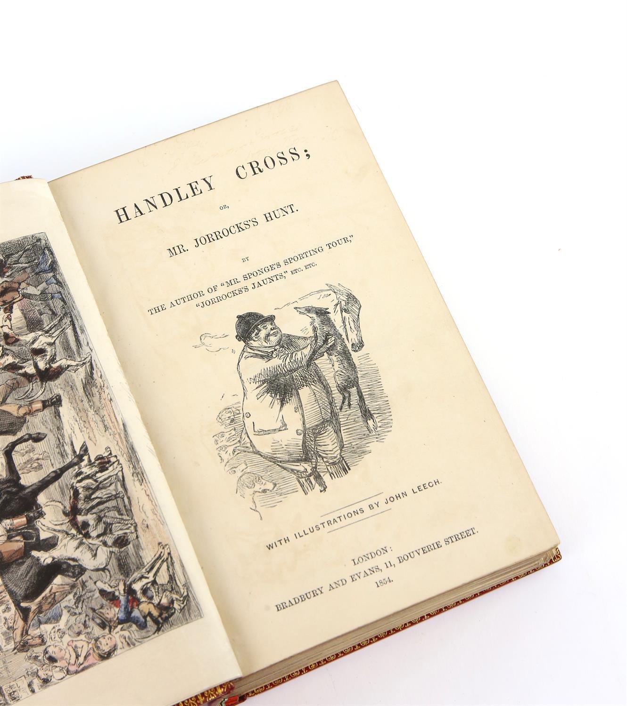 Handley Cross; or, Mr. Jorrocks's Hunt, by Surtees, Published by Bradbury and Evans, London, - Image 3 of 5