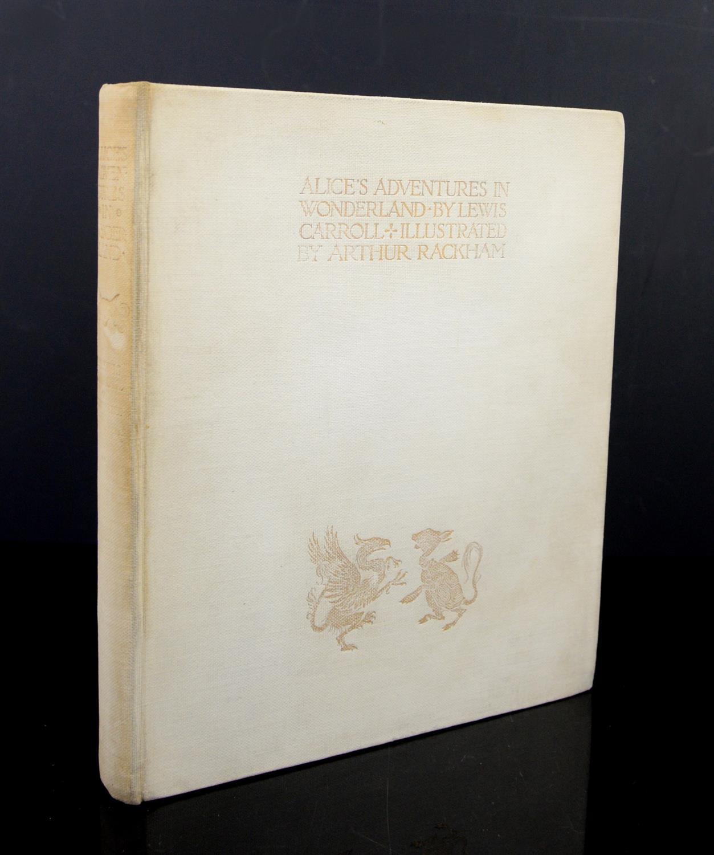 Carroll, Lewis, Alice's Adventures in Wonderland, illustrated by Arthur Rackham.W.Heinemann,