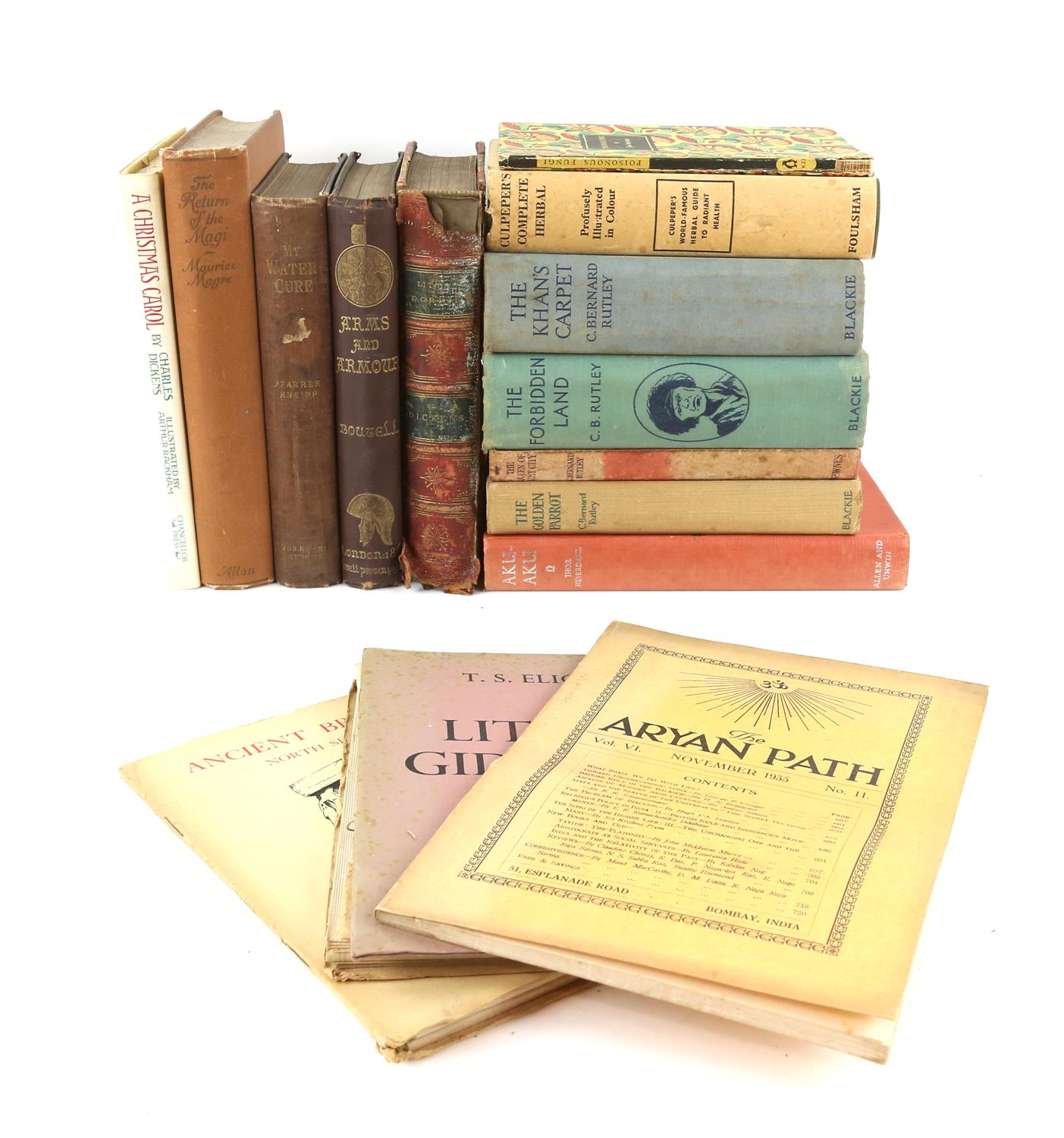 Various books including Chilton's Mustang, 1965-1968 with several other related books,