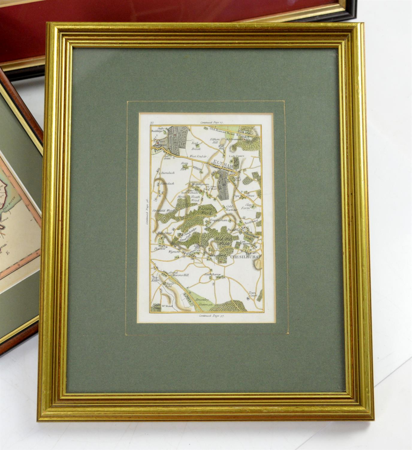 Colletion of maps to include North Riding of Yorkshire by John Cary, 1787, 22 x 27cm; Rutlandshire - Image 3 of 3