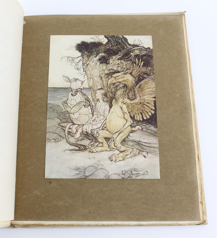 Carroll, Lewis, Alice's Adventures in Wonderland, illustrated by Arthur Rackham.W.Heinemann, - Image 7 of 17