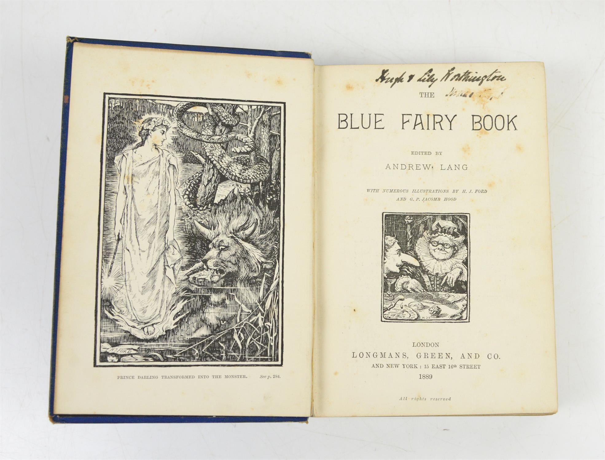 LANG. Andrew. All twelve volumes of THE FAIRY BOOKS, all first impressions of the first editions, - Image 2 of 2