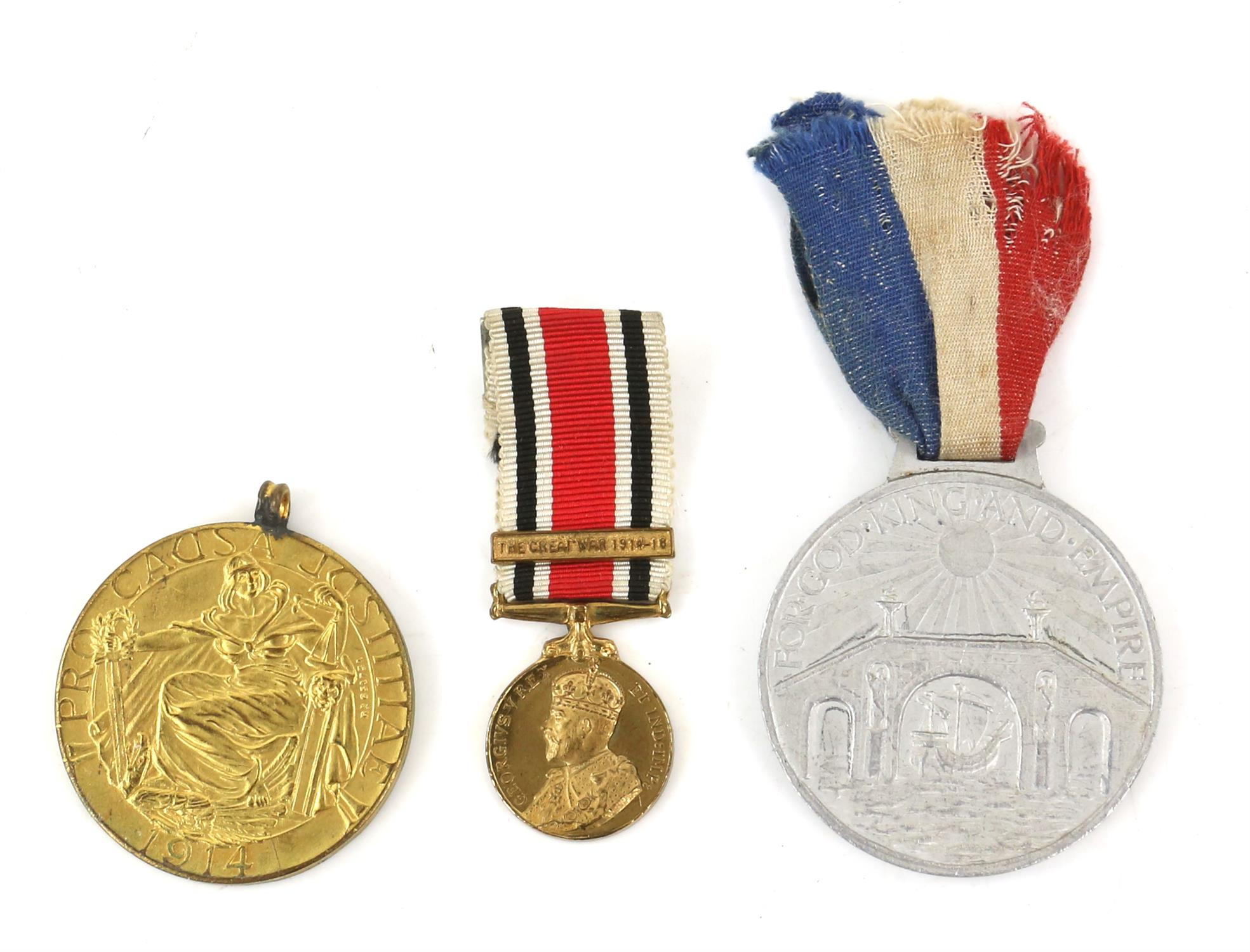 Large collection of medals and medallions, to include War Medal, Defence Medal, The Africa Star, - Image 2 of 5