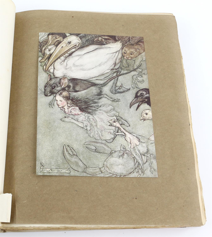 Carroll, Lewis, Alice's Adventures in Wonderland, illustrated by Arthur Rackham.W.Heinemann, - Image 5 of 17