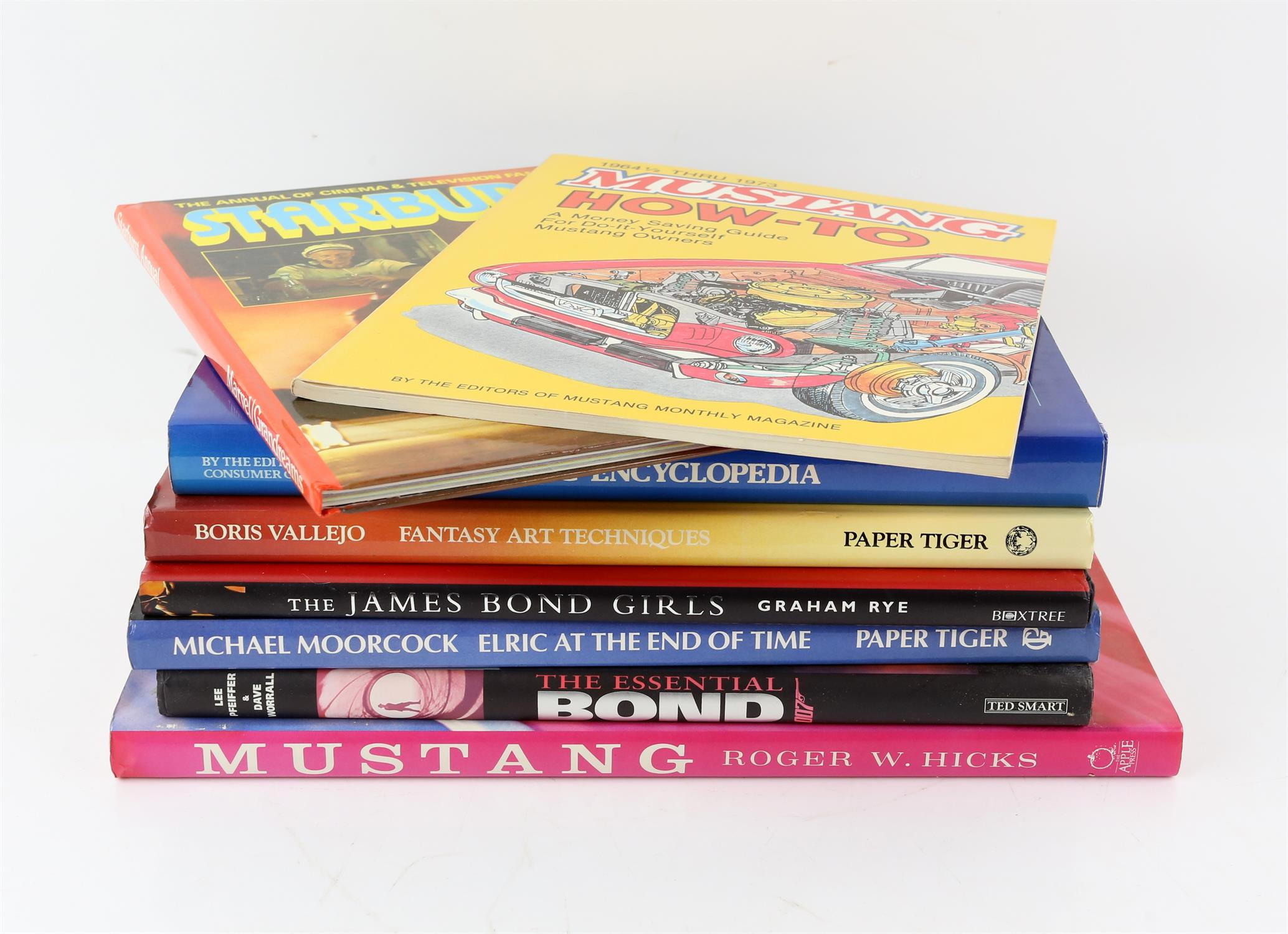 Various books including Chilton's Mustang, 1965-1968 with several other related books, - Image 4 of 4