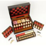 UPDATED ESTIMATE Coromandel 'Royal Cabinet of Games' fully fitted games compendium,