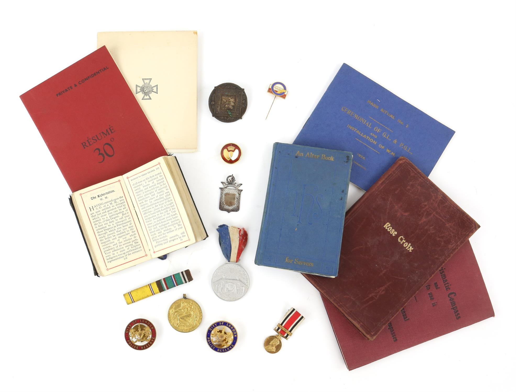 Large collection of medals and medallions, to include War Medal, Defence Medal, The Africa Star,