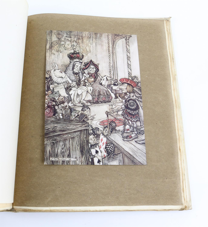 Carroll, Lewis, Alice's Adventures in Wonderland, illustrated by Arthur Rackham.W.Heinemann, - Image 6 of 17