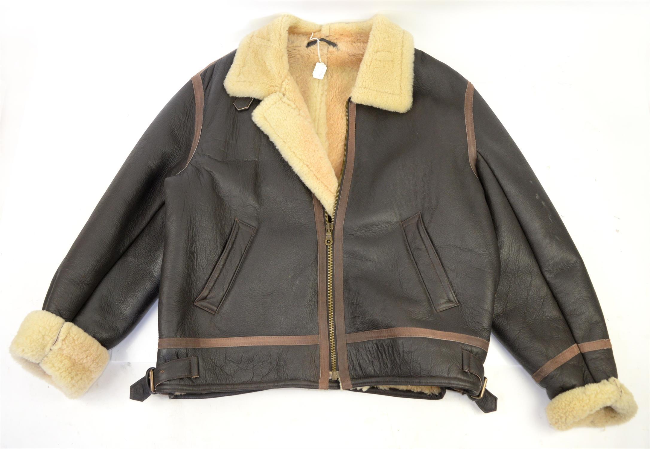 Miller Sheepskin flying jacket XXL