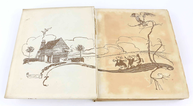 Carroll, Lewis, Alice's Adventures in Wonderland, illustrated by Arthur Rackham.W.Heinemann, - Image 8 of 17