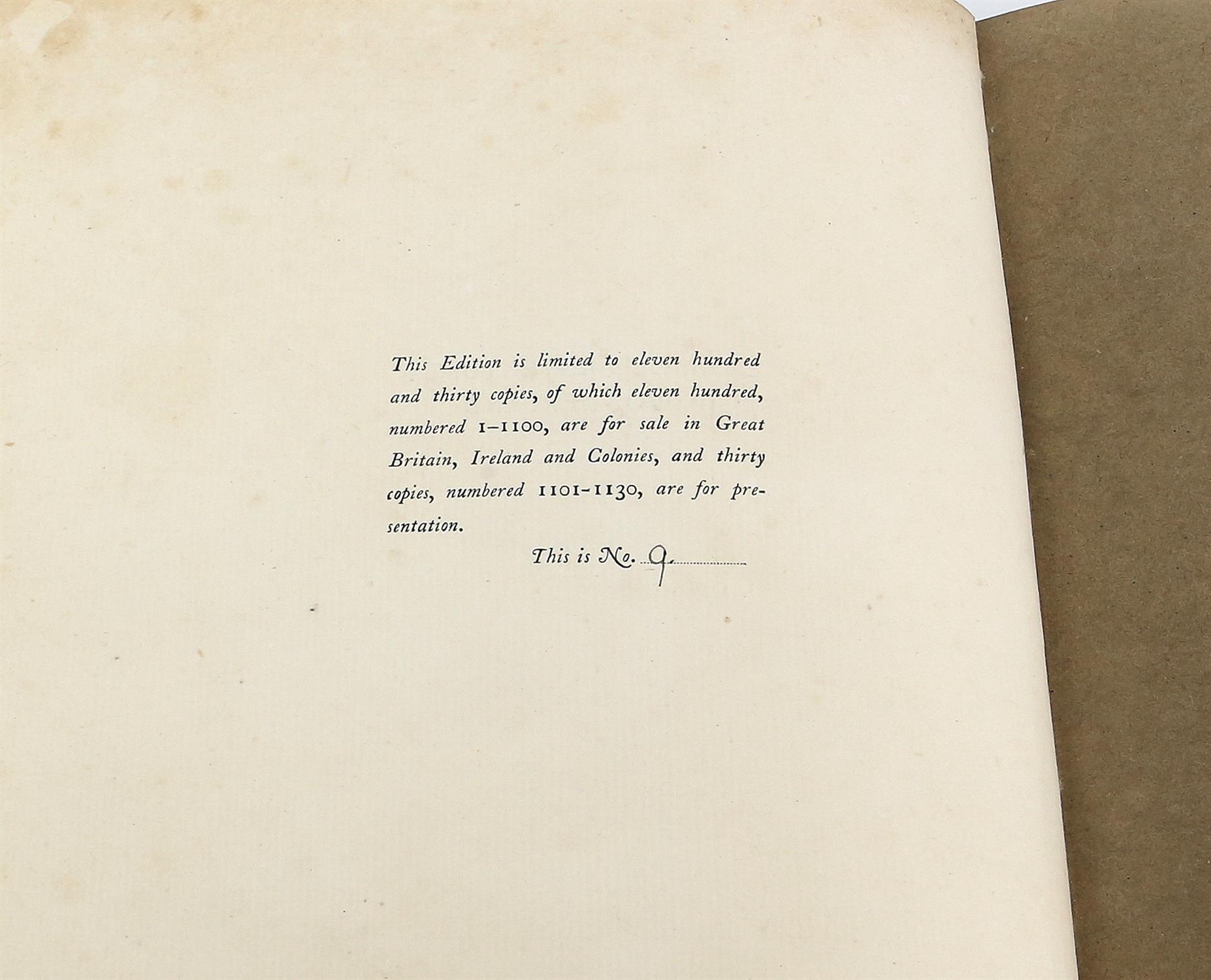 Carroll, Lewis, Alice's Adventures in Wonderland, illustrated by Arthur Rackham.W.Heinemann, - Image 9 of 17