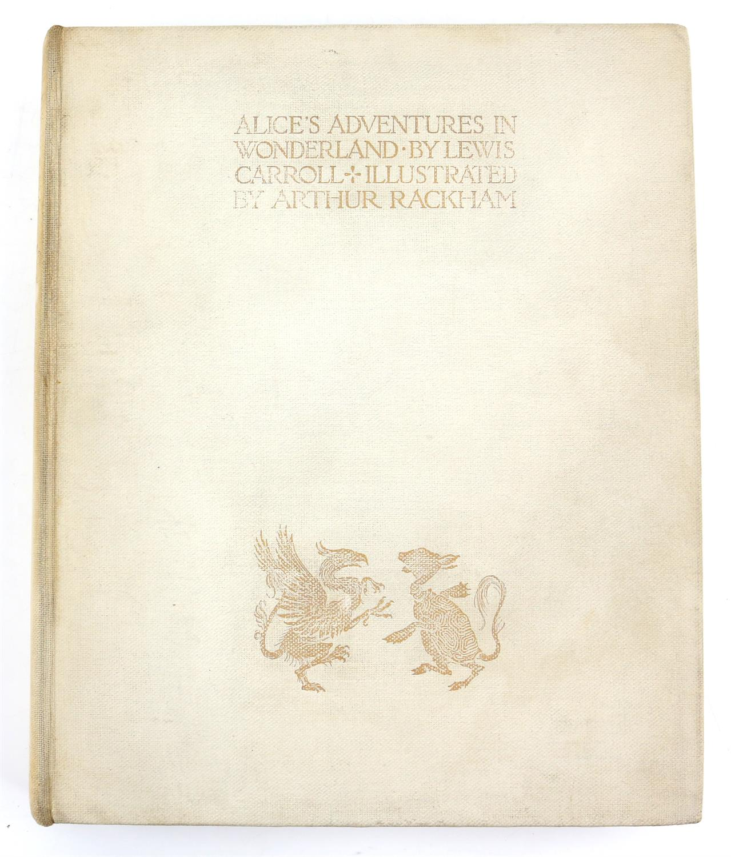 Carroll, Lewis, Alice's Adventures in Wonderland, illustrated by Arthur Rackham.W.Heinemann, - Image 16 of 17