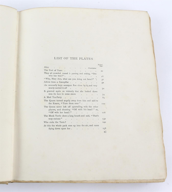 Carroll, Lewis, Alice's Adventures in Wonderland, illustrated by Arthur Rackham.W.Heinemann, - Image 12 of 17