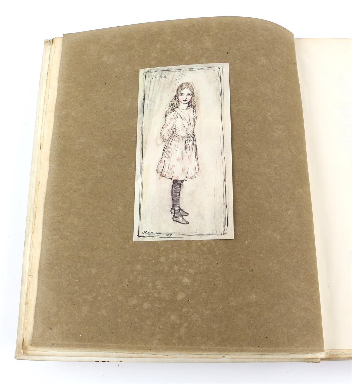 Carroll, Lewis, Alice's Adventures in Wonderland, illustrated by Arthur Rackham.W.Heinemann, - Image 3 of 17