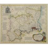 Thomas Bowen, An Accurate Map of the County of Middlesex, printed for Robert Sayer & John Bennett
