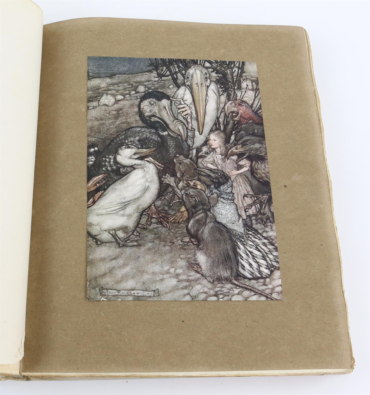 Carroll, Lewis, Alice's Adventures in Wonderland, illustrated by Arthur Rackham.W.Heinemann, - Image 4 of 17