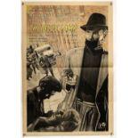 The Blue Lamp (1950) UK One Sheet film poster, from Ealing Studios, starring Jack Warner,