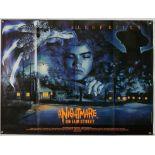 Wes Craven's A Nightmare on Elm Street (1984) British Quad film poster, artwork by Graham Humphreys,