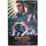 Blade Runner (1982) US One sheet film poster, artwork by John Alvin, directed by Ridley Scott,