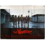The Warriors (1979) British Quad film poster, directed by Walter Hill, Paramount, folded,