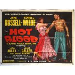 10 British Quad film posters including The Great Imposter, Danger Grows Wild, Happy Anniversary,