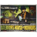 Dr Terror's House of Horrors (1965) British Quad film poster, starring Christopher Lee,