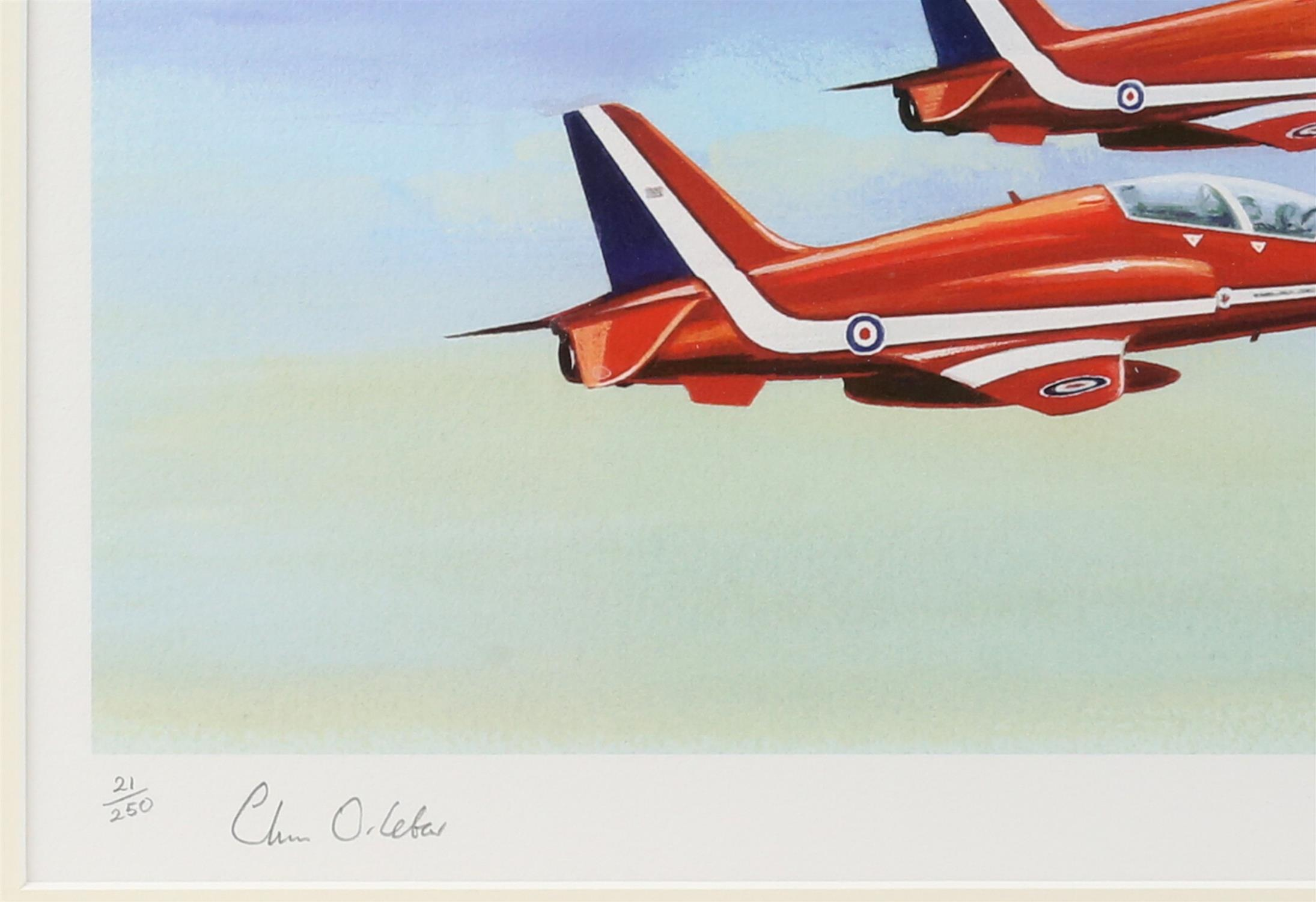 Patricia Forrest (20th Century). 'Concorde Salute', limited edition print, titled, - Image 4 of 4