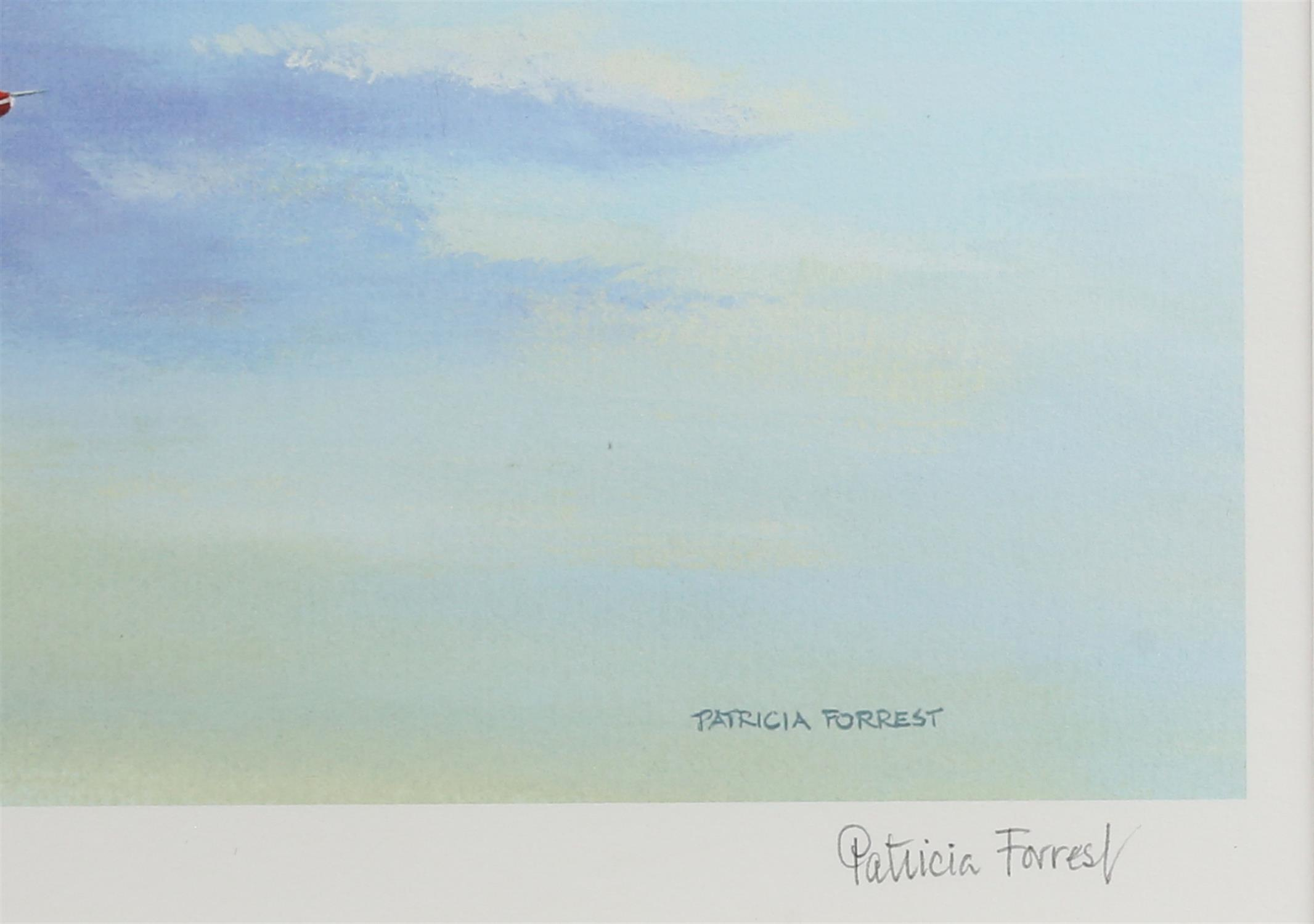Patricia Forrest (20th Century). 'Concorde Salute', limited edition print, titled, - Image 3 of 4