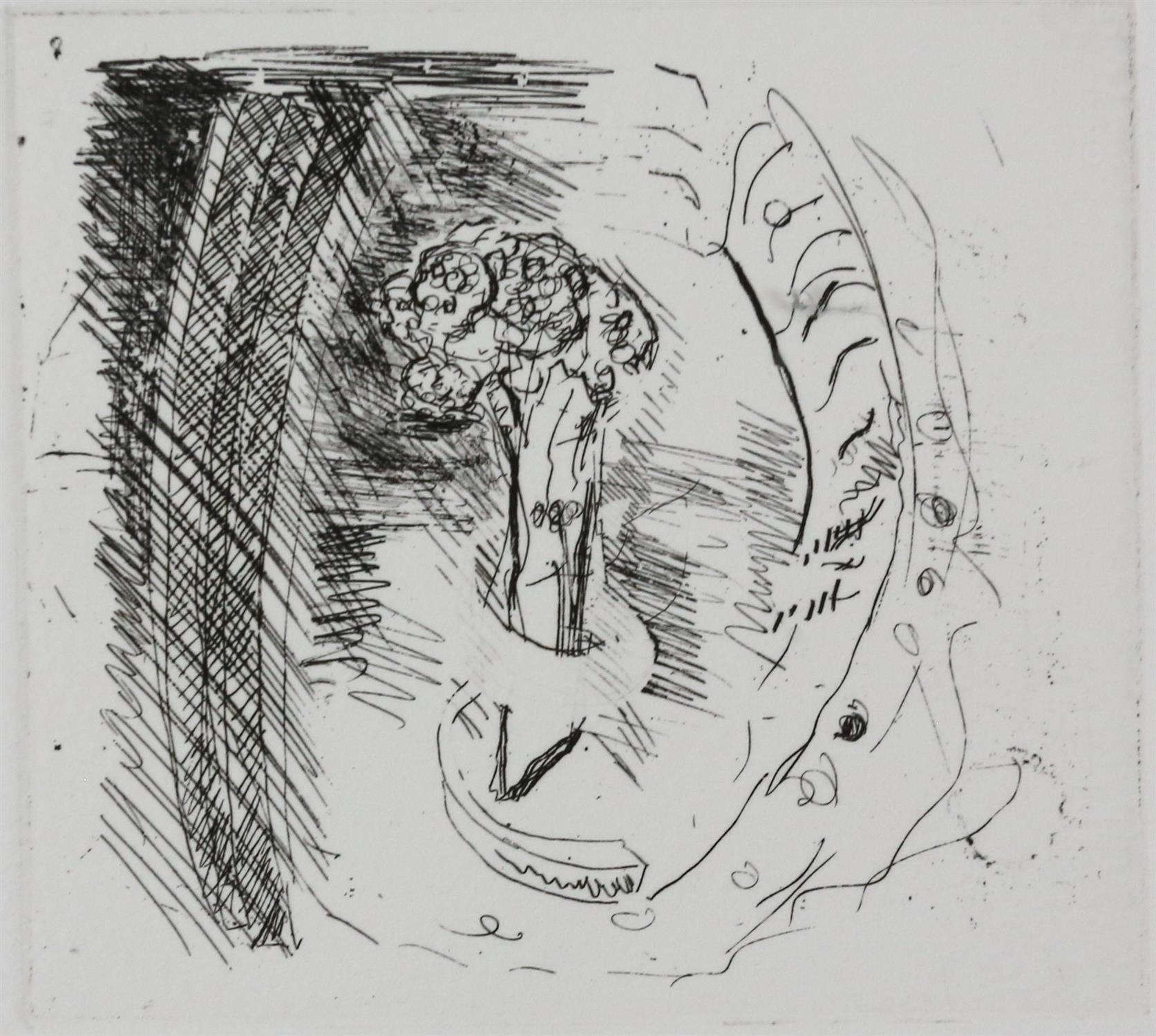Paul Coldwell (British, b.1952). Three etchings from the 'The Studio' folio, 1988, each signed, - Image 3 of 11