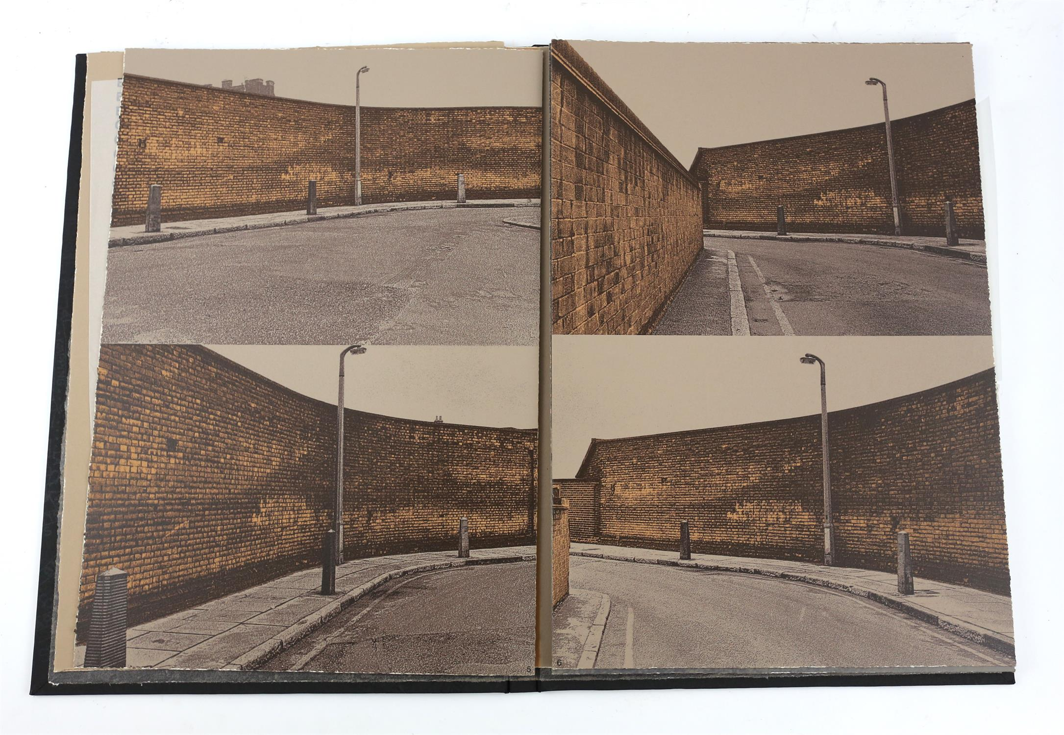 § Gerd Winner (German, b.1936). 'East One' portfolio of prints, signed and numbered 12/50 in pencil - Image 5 of 8