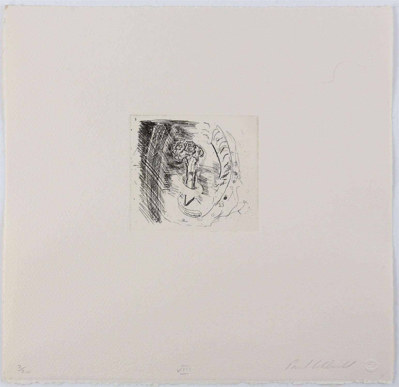 Paul Coldwell (British, b.1952). Three etchings from the 'The Studio' folio, 1988, each signed, - Image 8 of 11