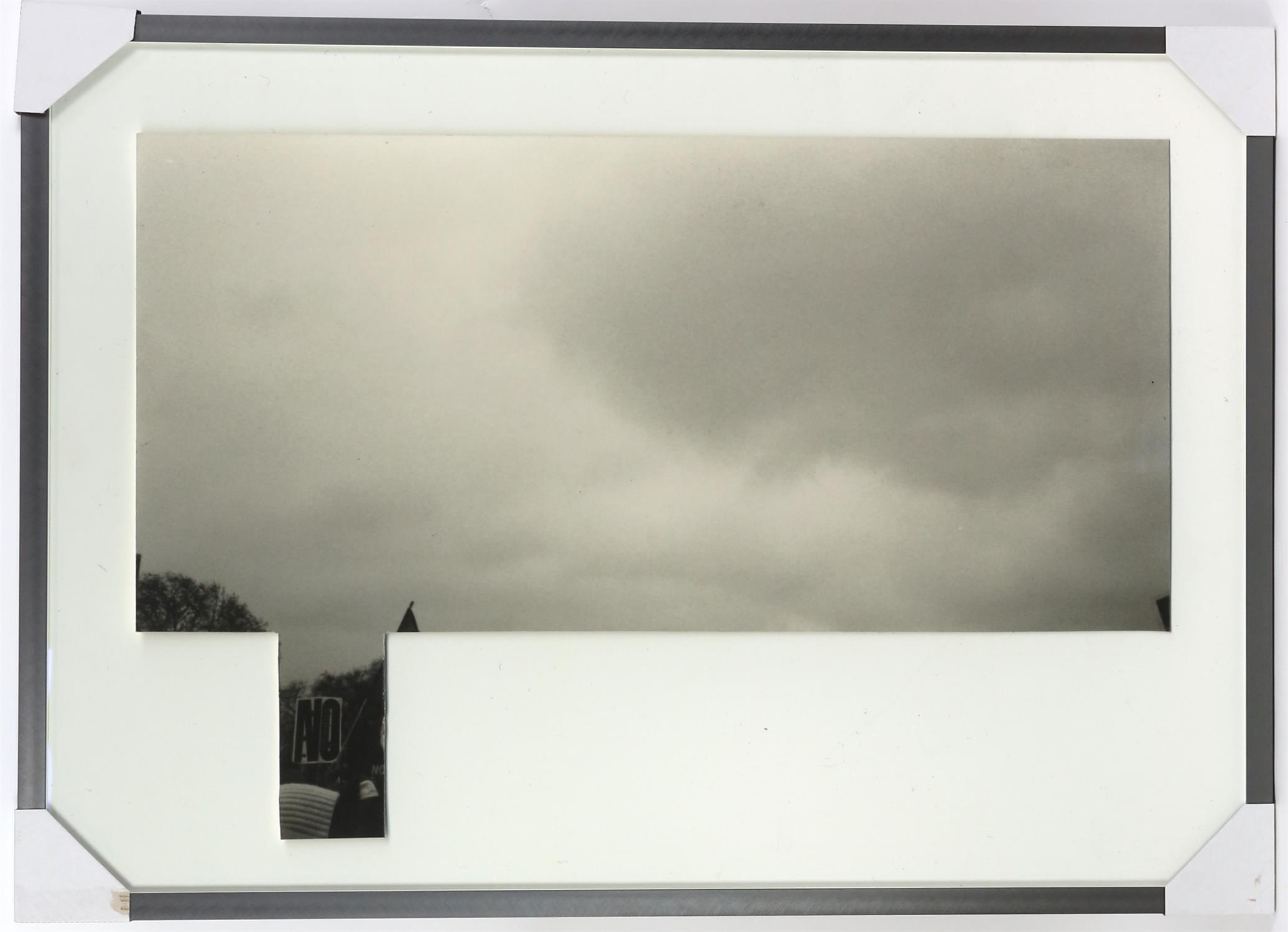 Lucy Coggle (British). 'Forecasting', 2011, digital print from scanned photograph, 70 x 100 cm. - Image 2 of 2