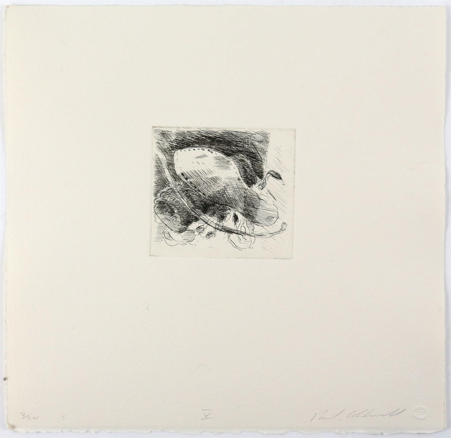 Paul Coldwell (British, b.1952). Three etchings from the 'The Studio' folio, 1988, each signed, - Image 6 of 11