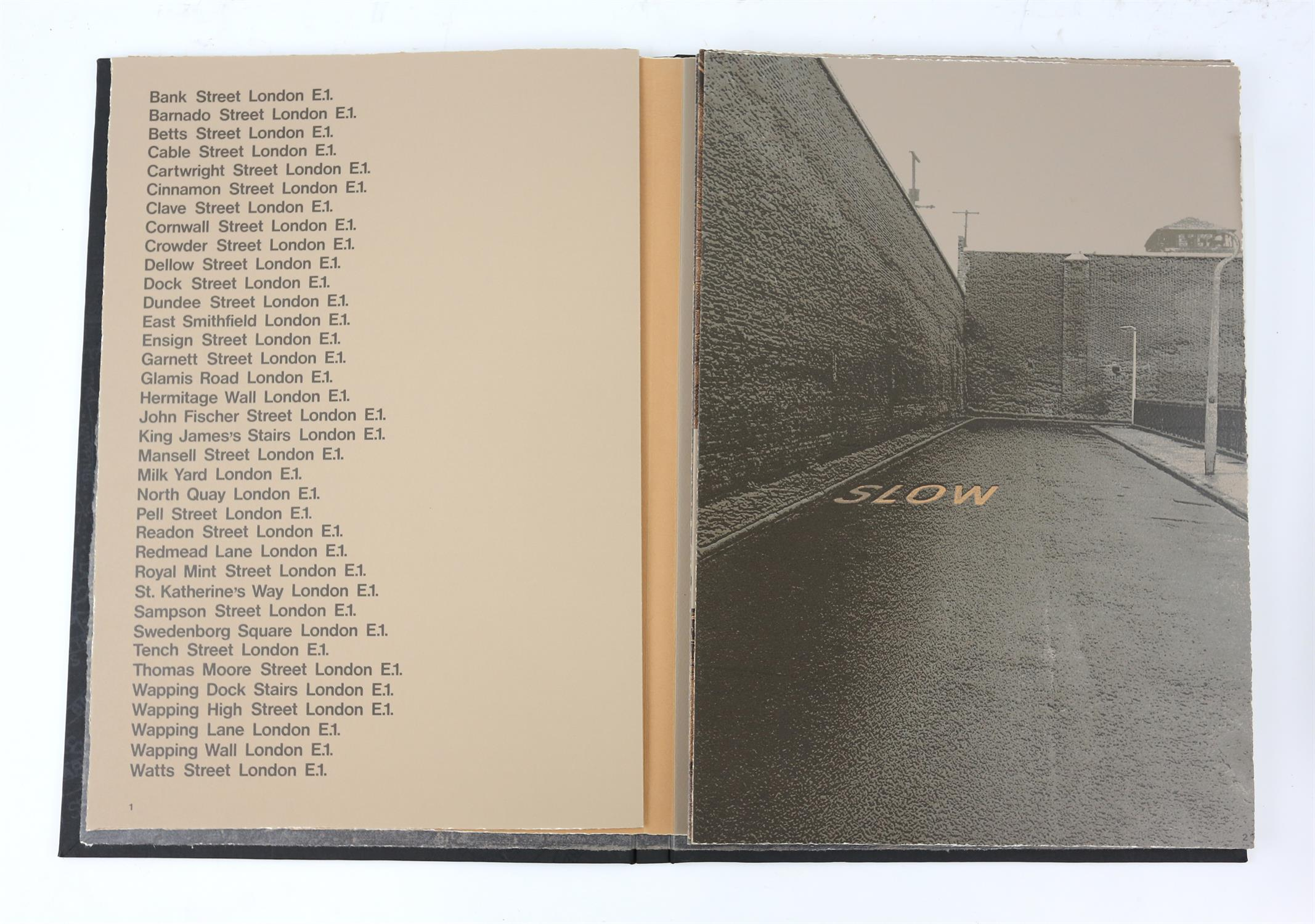 § Gerd Winner (German, b.1936). 'East One' portfolio of prints, signed and numbered 12/50 in pencil - Image 3 of 8