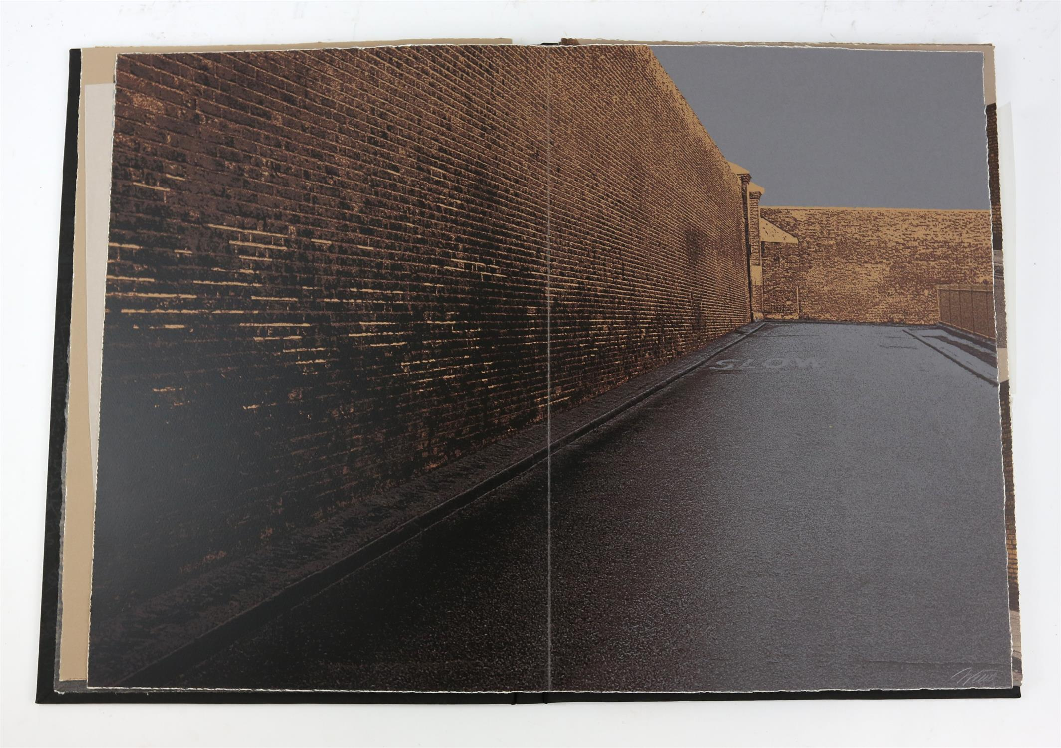 § Gerd Winner (German, b.1936). 'East One' portfolio of prints, signed and numbered 12/50 in pencil - Image 4 of 8