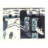 § Julian Trevelyan RA (British, 1910-1988). 'Windsor' (1969). Soft ground etching.