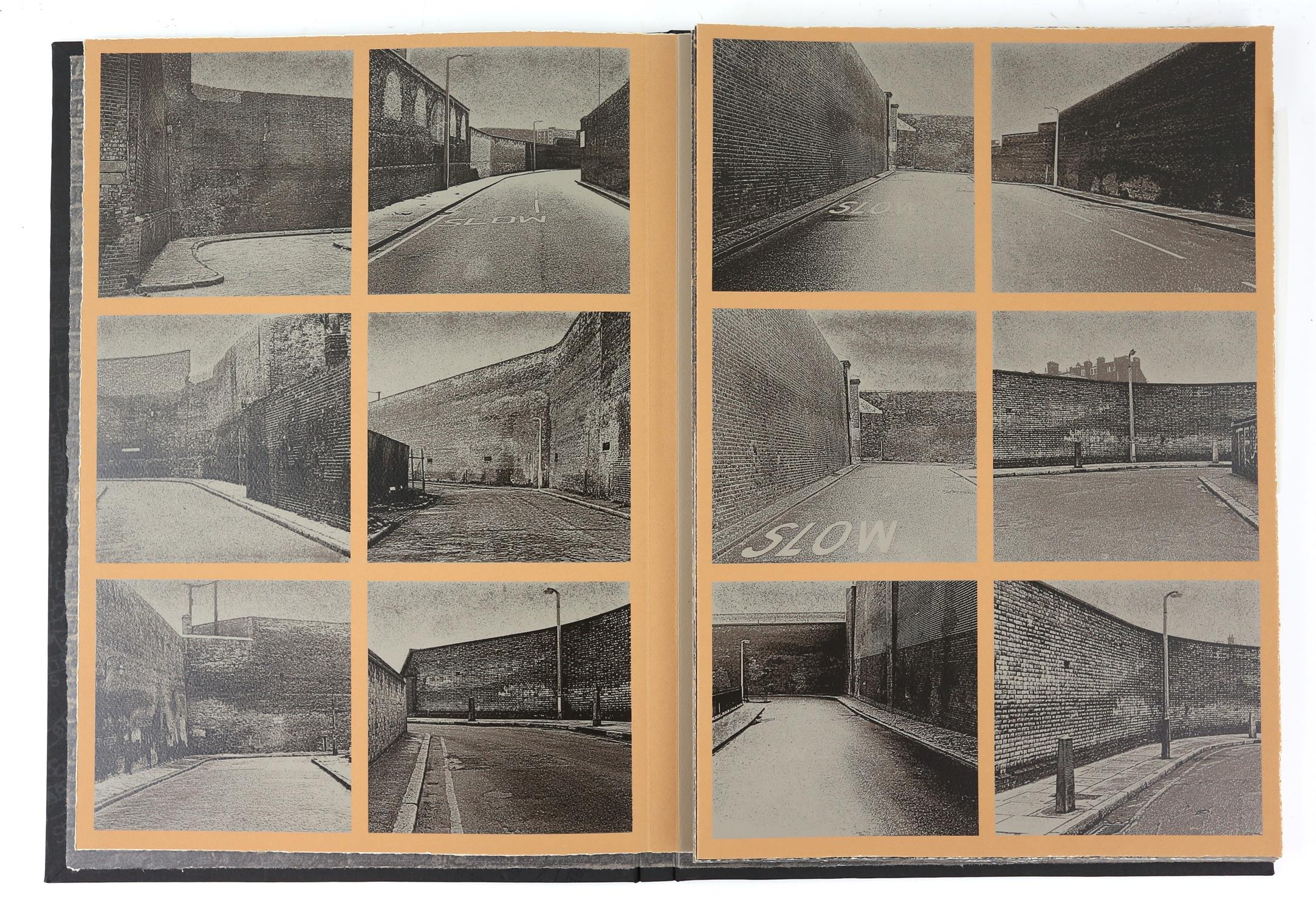 § Gerd Winner (German, b.1936). 'East One' portfolio of prints, signed and numbered 12/50 in pencil