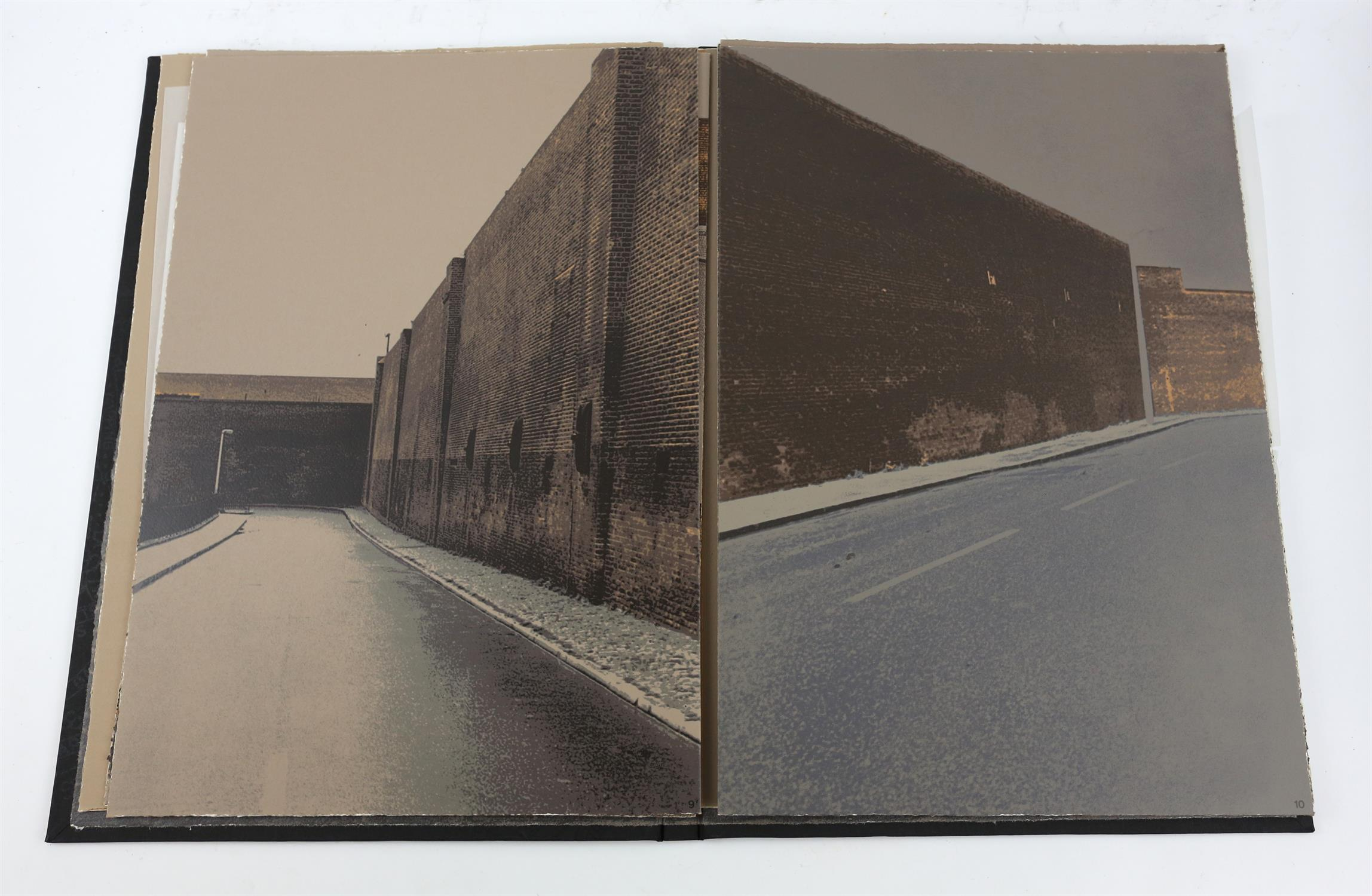 § Gerd Winner (German, b.1936). 'East One' portfolio of prints, signed and numbered 12/50 in pencil - Image 6 of 8