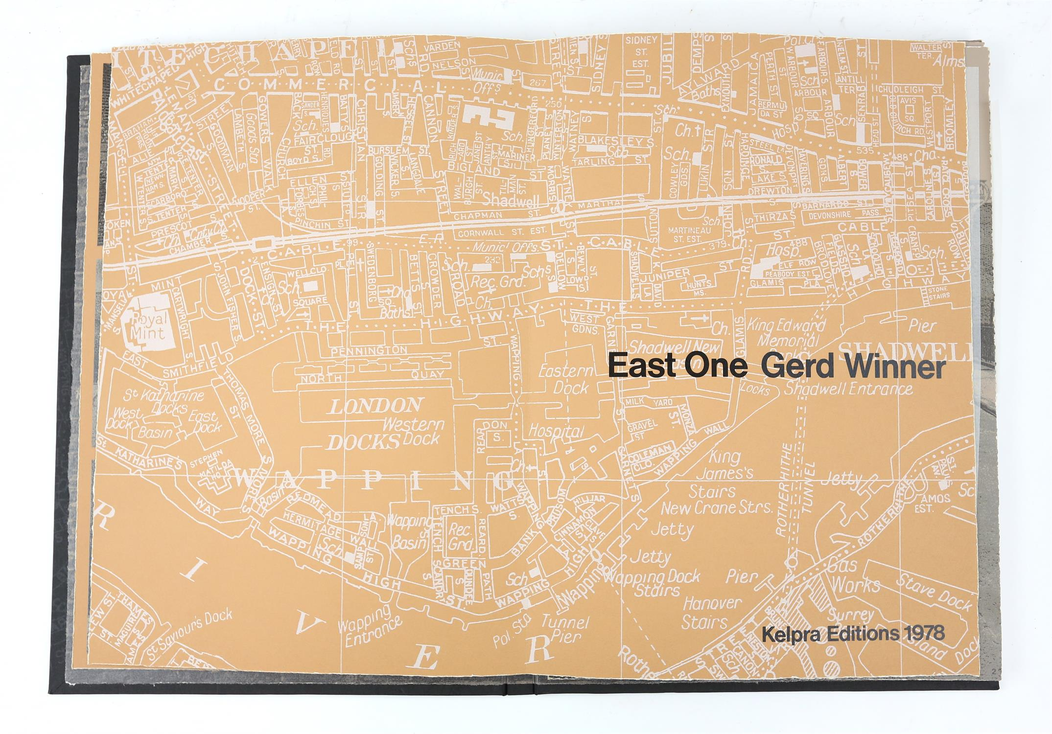 § Gerd Winner (German, b.1936). 'East One' portfolio of prints, signed and numbered 12/50 in pencil - Image 2 of 8