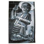 Jasper Joffe (British, b.1975). 'Gray Painting', 2004. Oil on canvas, 244 x 153 cm.