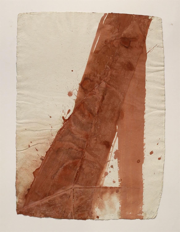 Heinz-Dieter Pietsch (German, b. 1944). Two untitled mixed media original artworks, 1989. - Image 4 of 4
