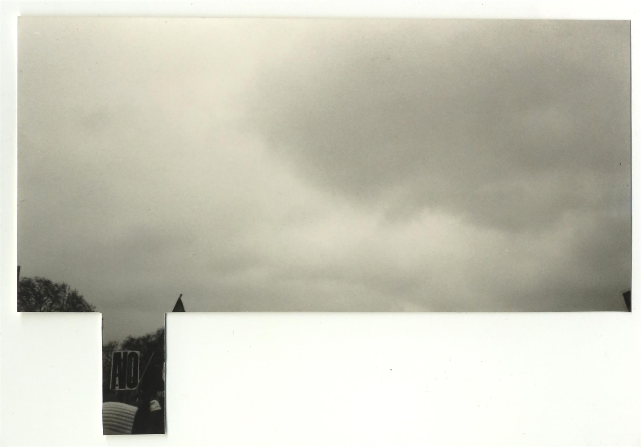 Lucy Coggle (British). 'Forecasting', 2011, digital print from scanned photograph, 70 x 100 cm.