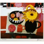 Mary Fedden (British, 1915-2012), 'The Orange Mug', lithograph, signed and numbered 522/550 in