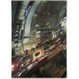 Matthew Carver (Canadian, b.1968). 'Chuo Dori', 2005. Acrylic on canvas, 244 x 340 cm.