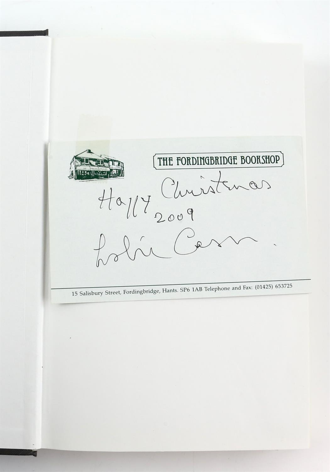 9 autographed books signed by Lauren Bacall, Richard Todd, Michael Palin, Leslie Caron, - Image 5 of 10