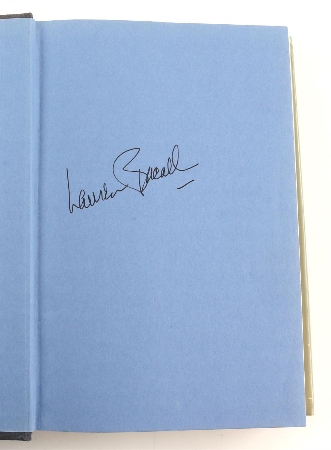 9 autographed books signed by Lauren Bacall, Richard Todd, Michael Palin, Leslie Caron, - Image 3 of 10